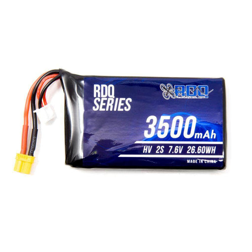 RDQ Series 7.6V 2S 3500mAh QX7 Compatible HV LiPo Battery - XT30