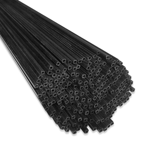 1 Meter Carbon Fiber Square Tube (1PC) - Choose Your Size