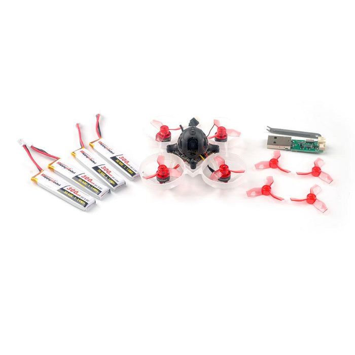 HappyModel BNF Mobula 6 1S Micro Whoop Quadcopter - Choose Your RX - Race or Standard