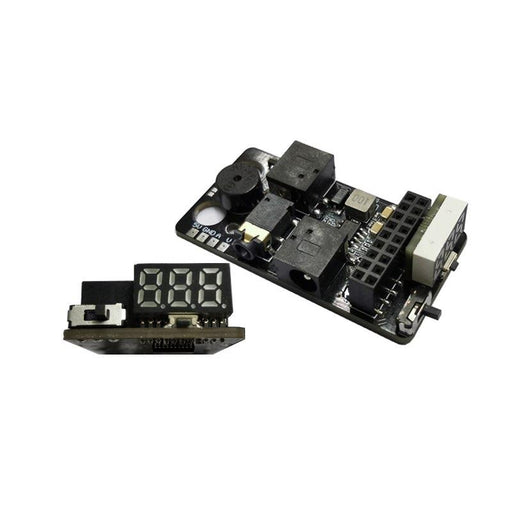 Analog FPV FatShark Module Adapter V3 w/ Voltage Display for DJI Digital FPV Goggles