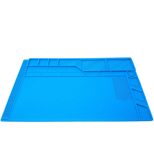 S-180A1 Large Heat Resistant Silicone Soldering Work Mat w/ Magnets