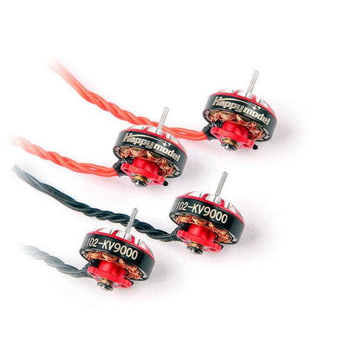 Happymodel EX1102 9000Kv (1.5mm Shaft) Whoop/Micro Motor 4 Pack for Mobula7 HD