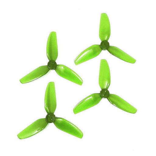 "HQ Prop T3x3x3 PC Durable Tri-Blade 3"" Prop 4 Pack (3 Hole) - Choose Your Color"