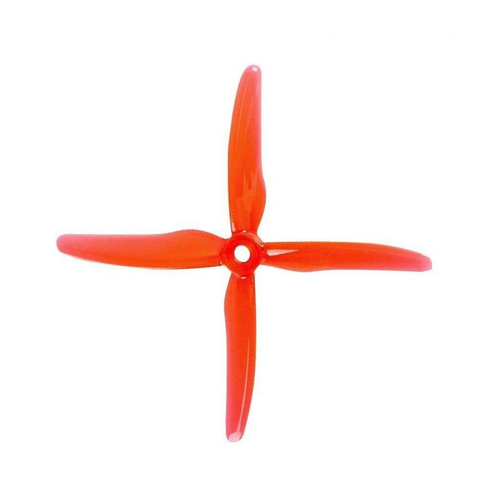"Gemfan Hurricane X 51455 Durable Quad-Blade 5"" Prop 4 Pack - Choose Your Color"