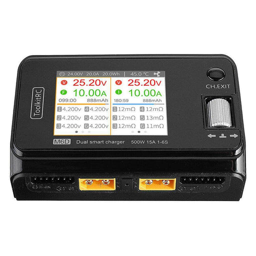 ToolkitRC M6D 500W 25A DC Battery Charger for Sale