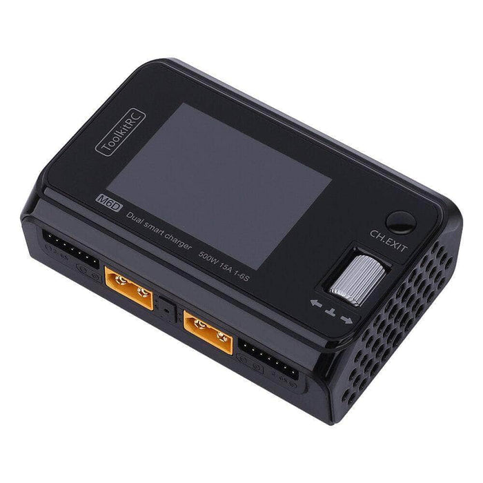 Dual Channel 25A 500W DC Battery Charger for Sale