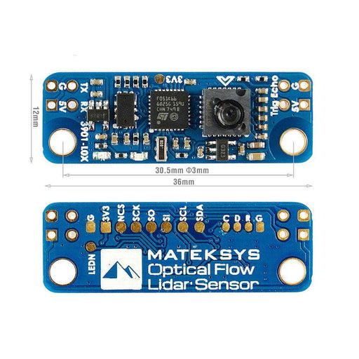 Matek 3901-L0X Optical Flow & Lidar Sensor