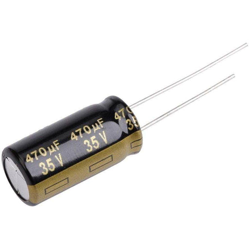Panasonic 470uF 35V Low ESR Capacitor for ESC Noise Reduction - RaceDayQuads