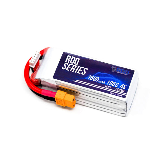 RDQ Series 14.8V 4S 1500mAh 100C LiPo Battery - XT60
