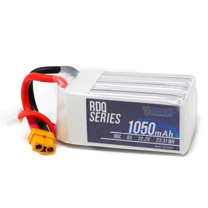 RDQ Series 22.2V 6S 1050mAh 90C LiPo Battery - XT60