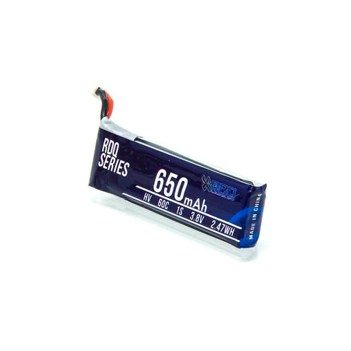 RDQ Series 3.8V 1S 650mAh 60C LiHV Micro Battery - PH2.0 - RaceDayQuads