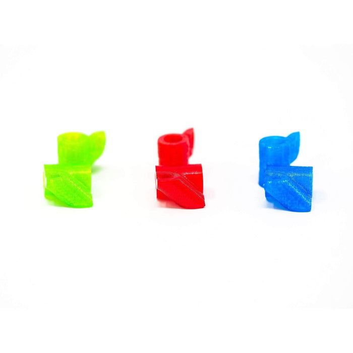 45° RX Antenna Tube Holder for Standoff 2 Pack - 3D Printed TPU - Choose Your Color - RaceDayQuads