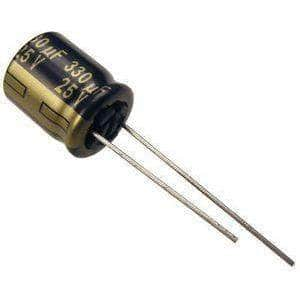 Panasonic 330uF 25V Low ESR Capacitor for ESC Noise Reduction - RaceDayQuads