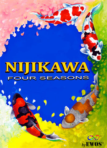 Nijikawa Four Seasons 15 lbs, 5mm Floating pellets - The Koi Store