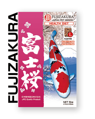 JPD Fujizakura - Floating - Large Pellet - 33Lbs