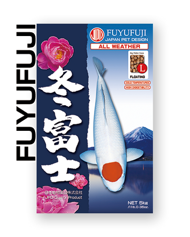 JPD Fuyufuji - Floating - Large Pellet - 33Lbs