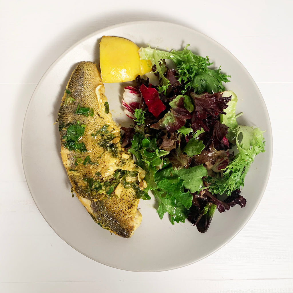 Ghee-Seared Pickerel with Lemon and Herbs