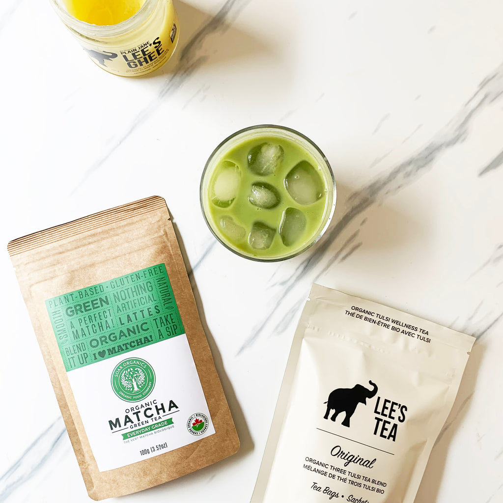 Tulsi Matcha Latte Recipe & Giveaway with Soar Organics