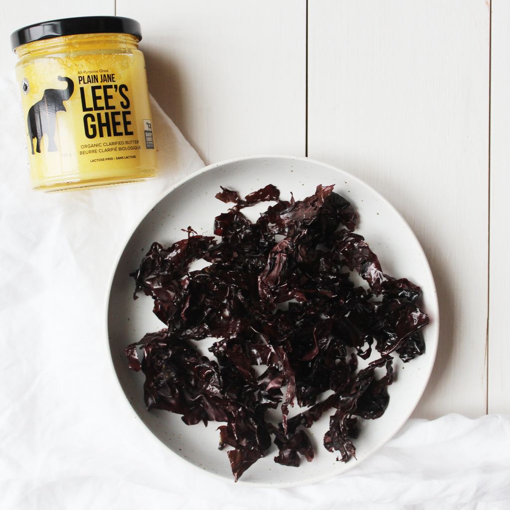 Crispy Dulse Seaweed Chips