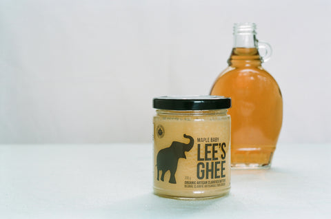 Lee's Maple Baby Ghee with Maple Syrup