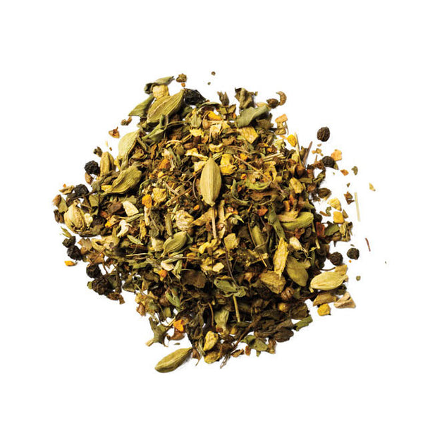 Gold Rush: Organic Tulsi Tea with Turmeric [WS]