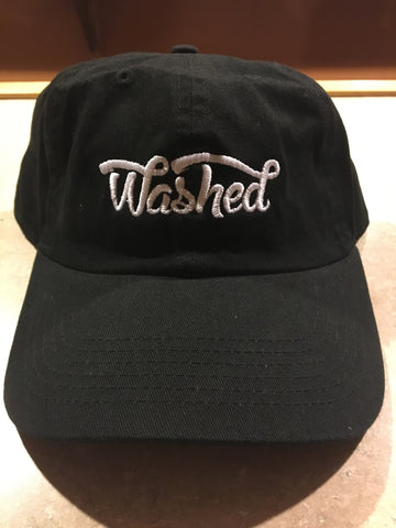 Washed Black Dad Hat