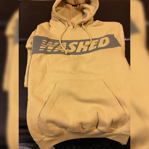 "Yellow ""Washed"" Hoodie"
