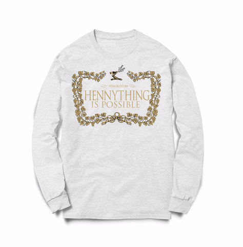 Long Sleeve Hennything Is Possible White