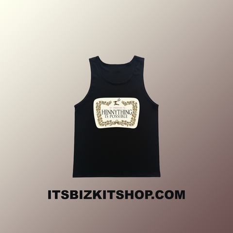 """Hennything Is Possible"" Black Tank Top"
