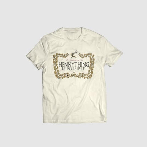 'Hennything Is Possible' Cremé Tee