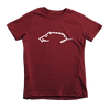 Natural State Hog Tee (Kids)