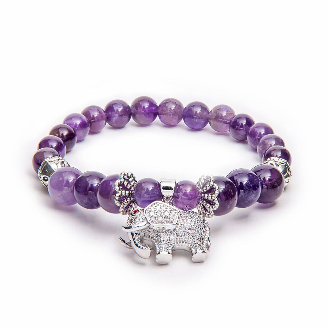 Kids 3 - Amethyst and Elephant