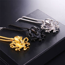 18 - Gold Plated Octopus