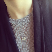 14(a) - Sterling Silver Swan Necklace