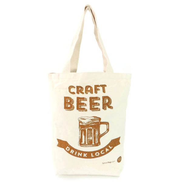 Craft Beer Grocery Tote