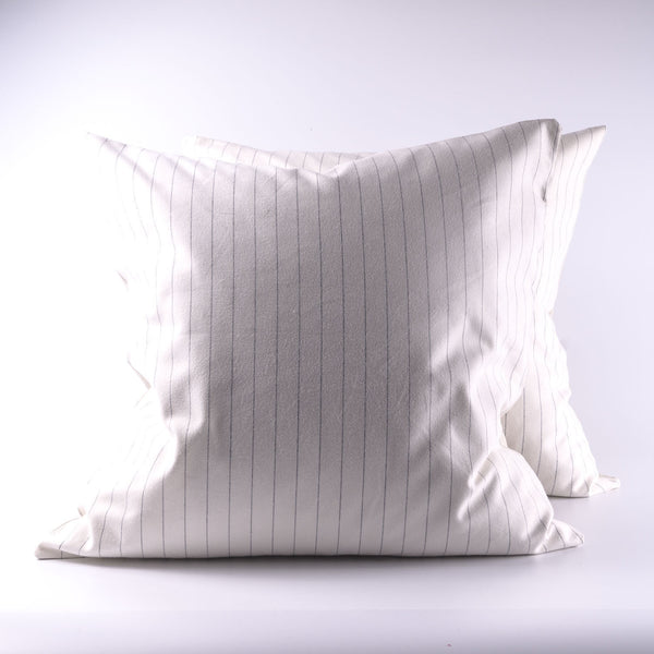 Ruth Pinstripe Flannel Cushion Cover
