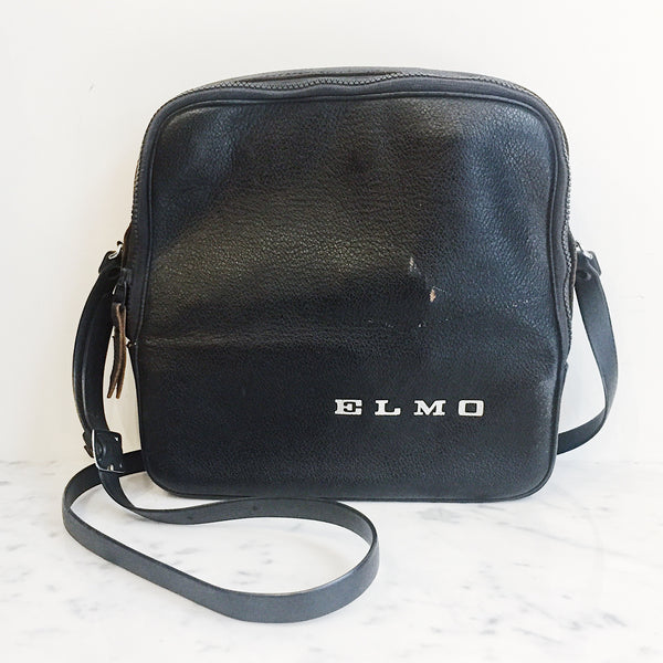 Vintage Elmo Leather Bag
