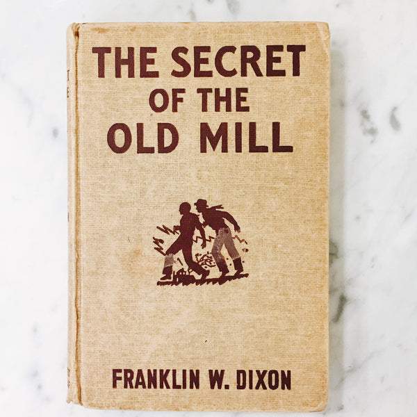 Vintage Children's Book: The Secret of the Old Mill