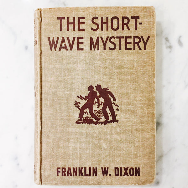Vintage Children's Book: The Shortwave Mystery