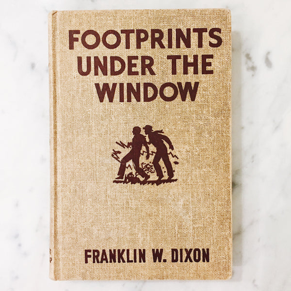 Vintage Children's Book: Footprints Under The Window