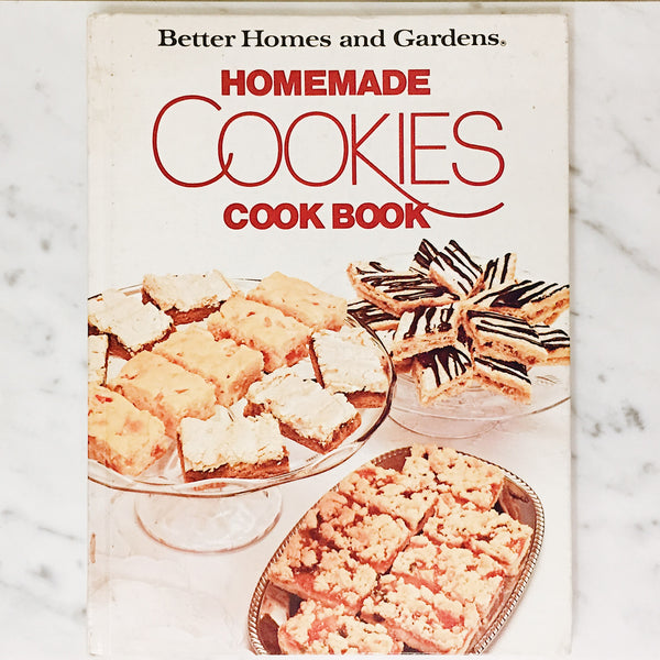 Vintage Cookbook: Homemade Cookies Cookbook