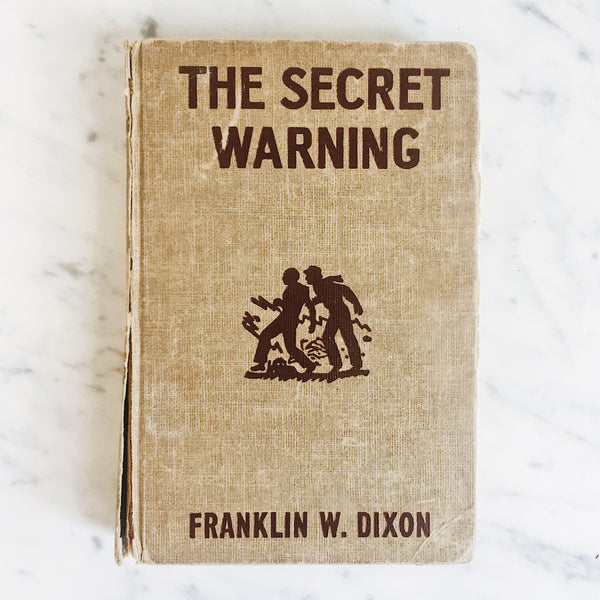Vintage Children's Book: The Secret Warning