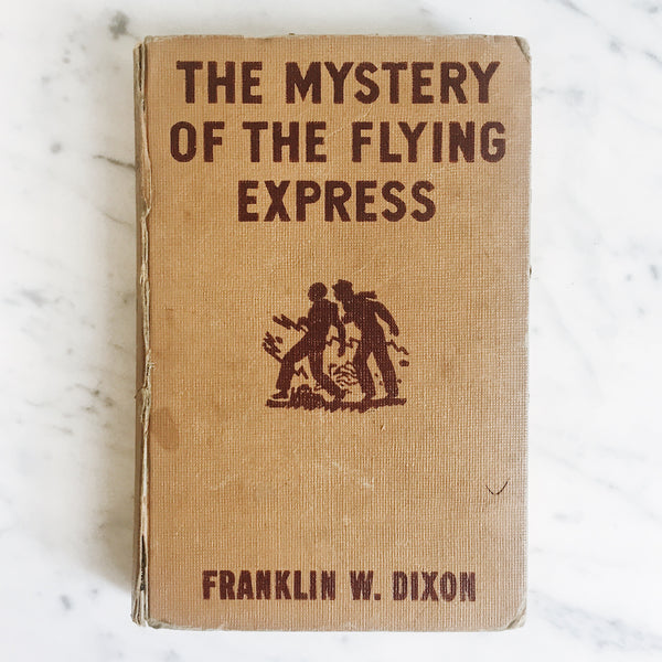 Vintage Children's Book: The Mystery of the Flying Express