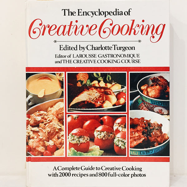 Vintage Cookbook: The Encyclopedia of Creative Cooking
