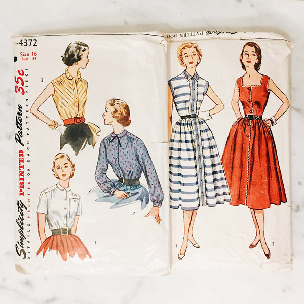 Vintage Sewing Pattern Pack