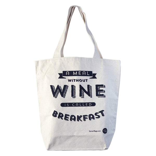 A Meal Without Wine Grocery Tote