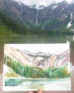 ~ Avalanche Lake #1 ~