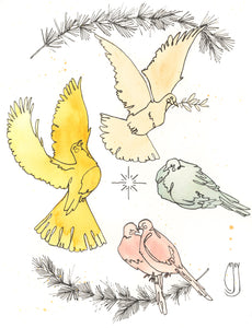 Advent Doves
