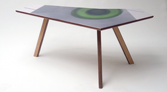 Kidney Table Green Circle | Neunoy - We Are Makers