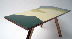 Kidney Table Green Shadowed | Neunoy - We Are Makers